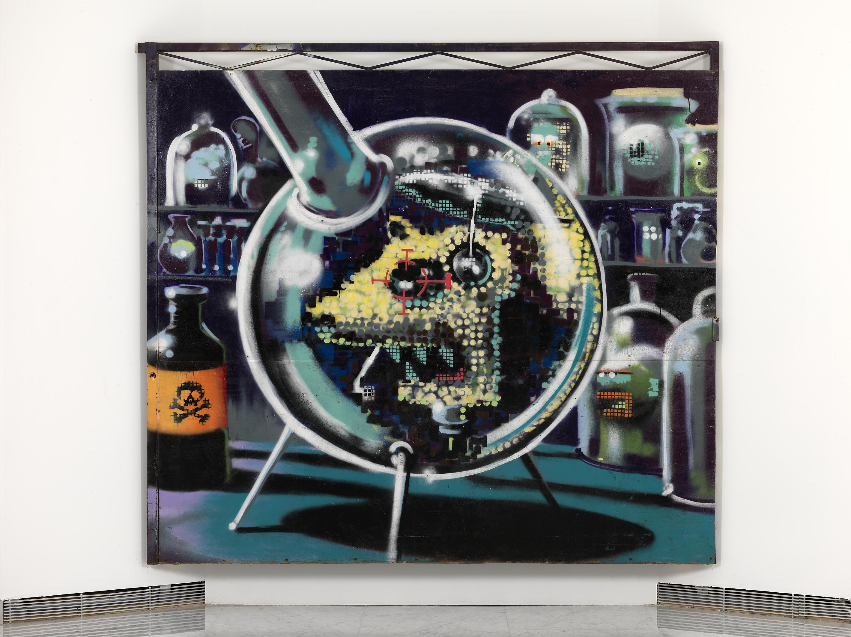 Banksy, Lab rat 2000 c...