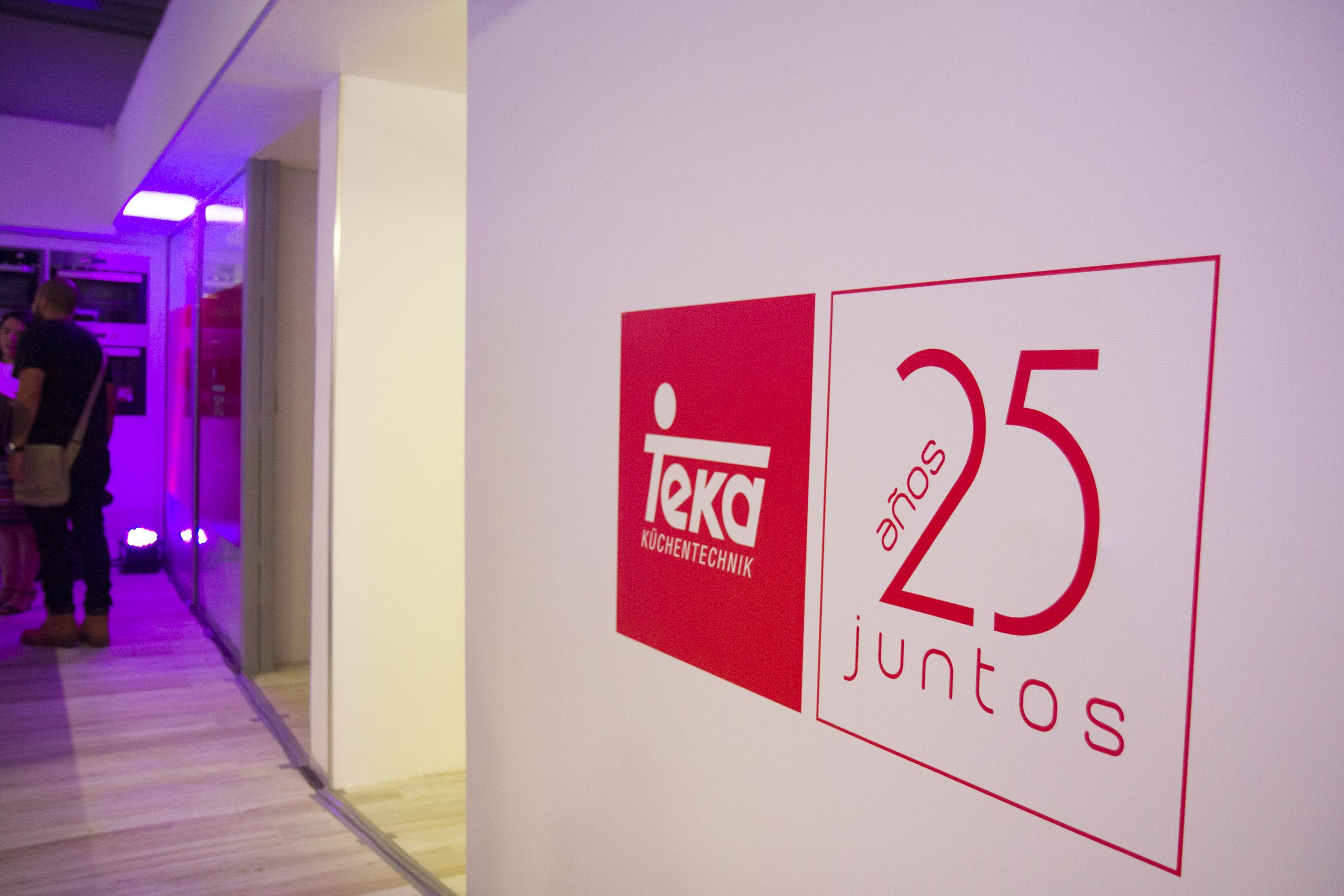 TEKA celebra sus 25 años inaugurando su nuevo Showroom en Polanco