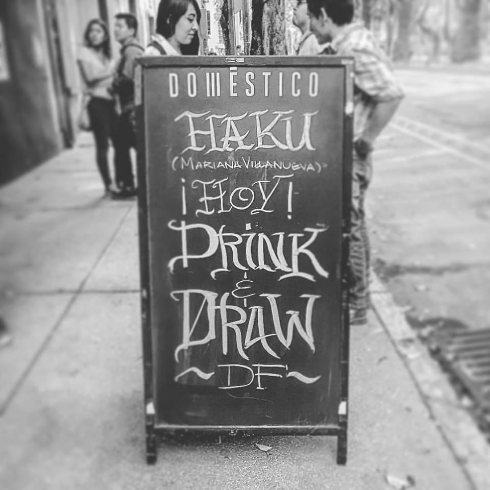 Aniversario de Drink & Draw DF