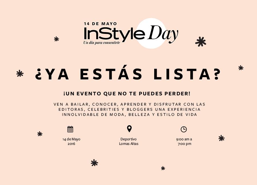 InStyle Day, un día para consentirte