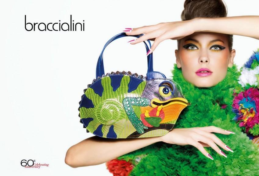 La prestigiosa firma de bolsos Braccialini.
