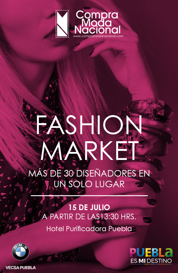 Fashion Market Puebla.