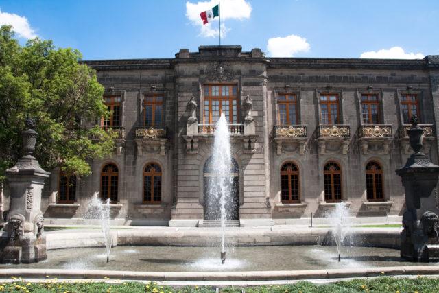 VOTA POR EL CASTILLO DE CHAPULTEPEC EN #BEINSPIREDBYARCHITECTURE