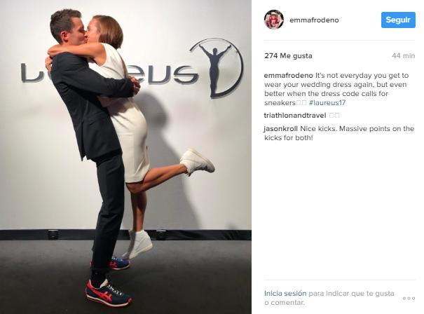 Instagram de la Campeona Olímpica Emma Frodeno