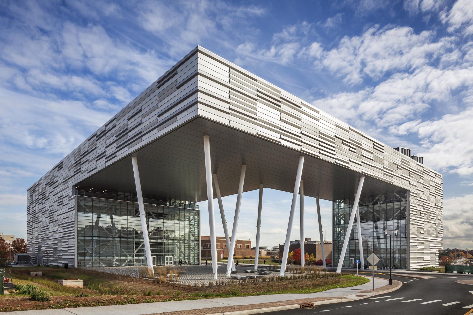 Rutgers Business School, Location: Piscataway NJ, Architect: Enrique Norten, TEN Arquitectos
