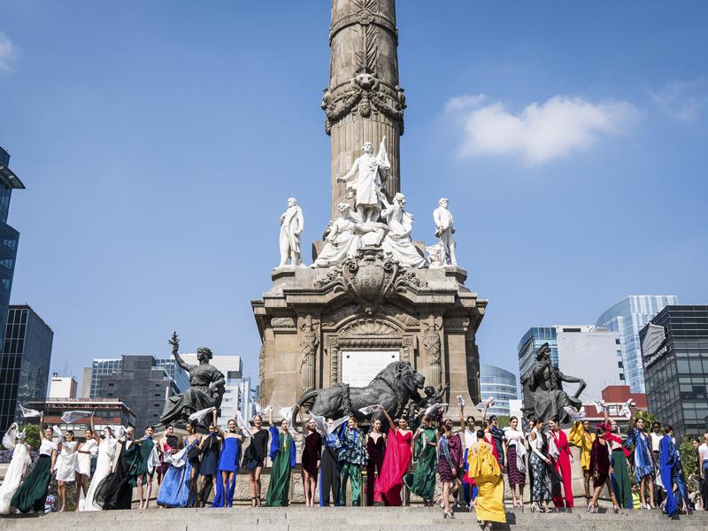 ARRANCA #MBFWMX EN UNO DE LOS LUGARES MÁS ICÓNICOS DE LA CDMX