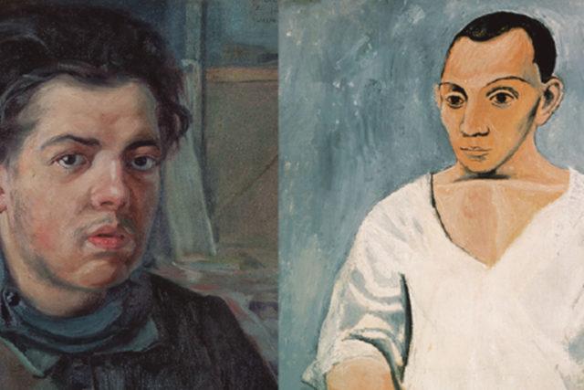 LUCHARÁN  DE DOS A TRES CAÍDAS SIN LÍMITE DE TIEMPO  Diego Rivera vs. Pablo Picasso