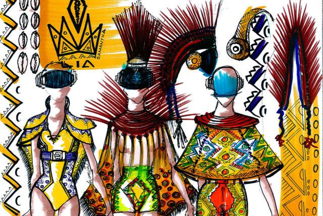 Moda colombiana con ritmos africanos
