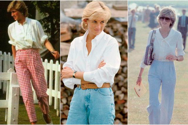 20 looks en los que la princesa Diana hizo del blanco su color.