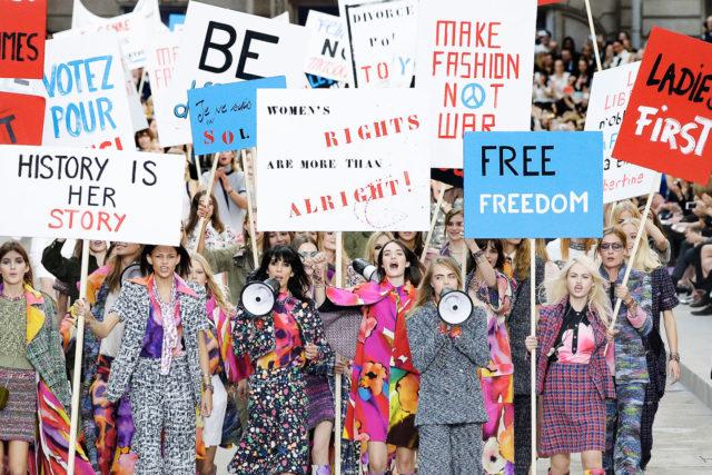 La moda en movimientos sociales