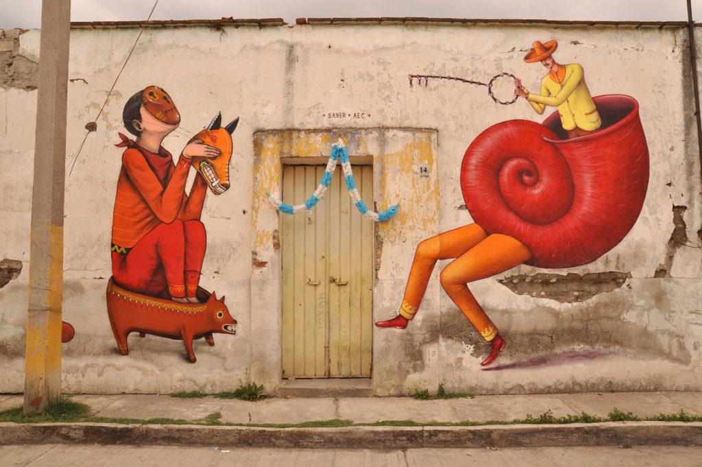 Conociendo la ciudad a través del Street Art