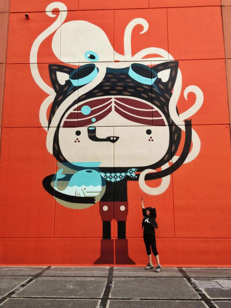 Resultado de imagen para itzel nájera news murales