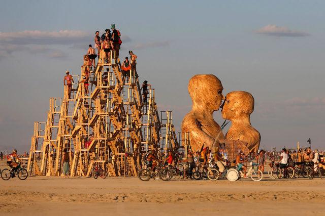 Burning Man: el festival de la autroexpresión radical