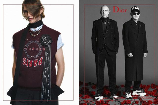 Pet Shop Boys es el nuevo rostro de Dior Homme