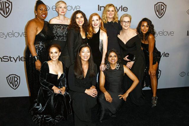 Time's Up: mujeres solidarias en Hollywood