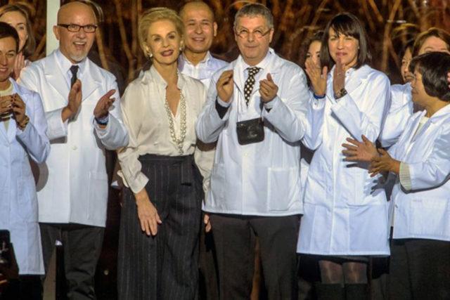 La Reina nos deja: así la última pasarela de Carolina Herrera #NYFW