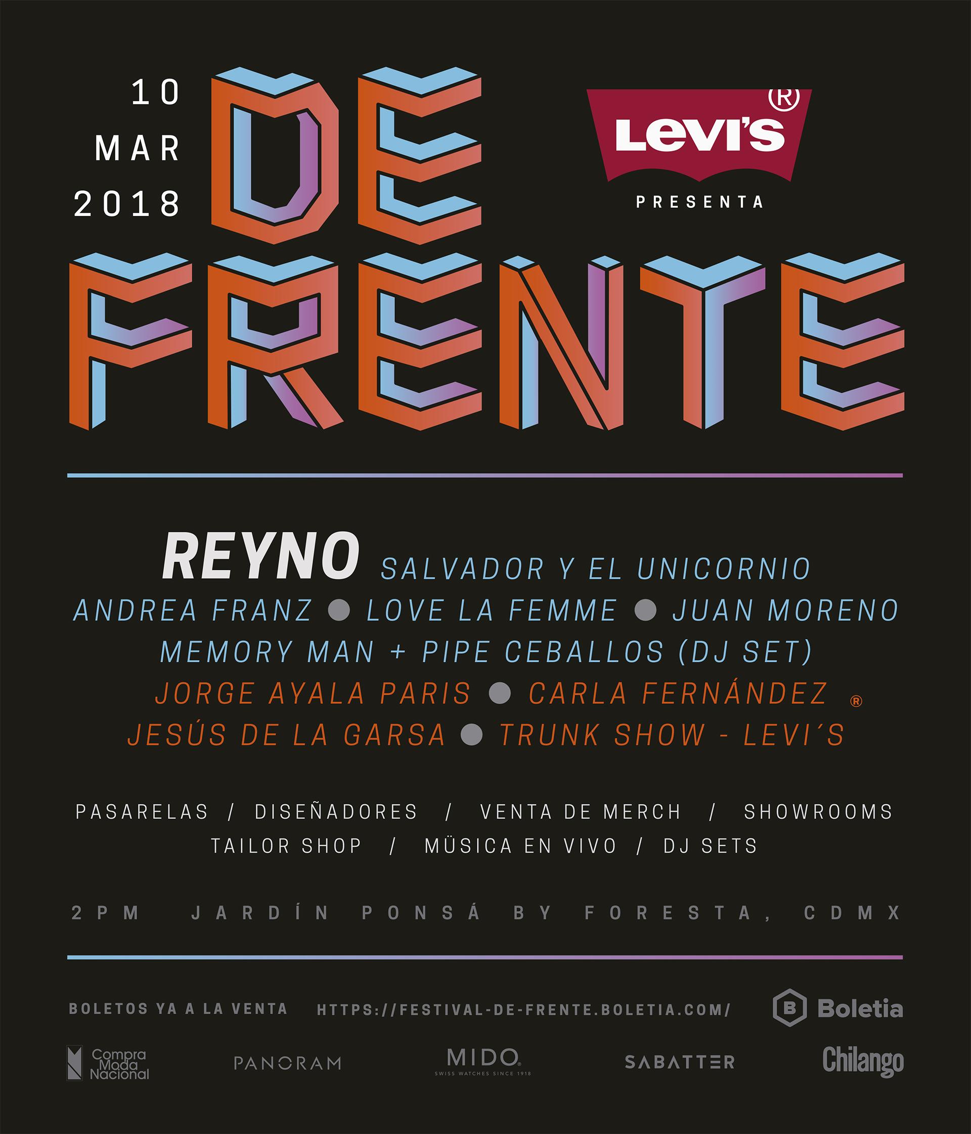 Todo lo que necesitas saber sobre #FestivalDeFrente