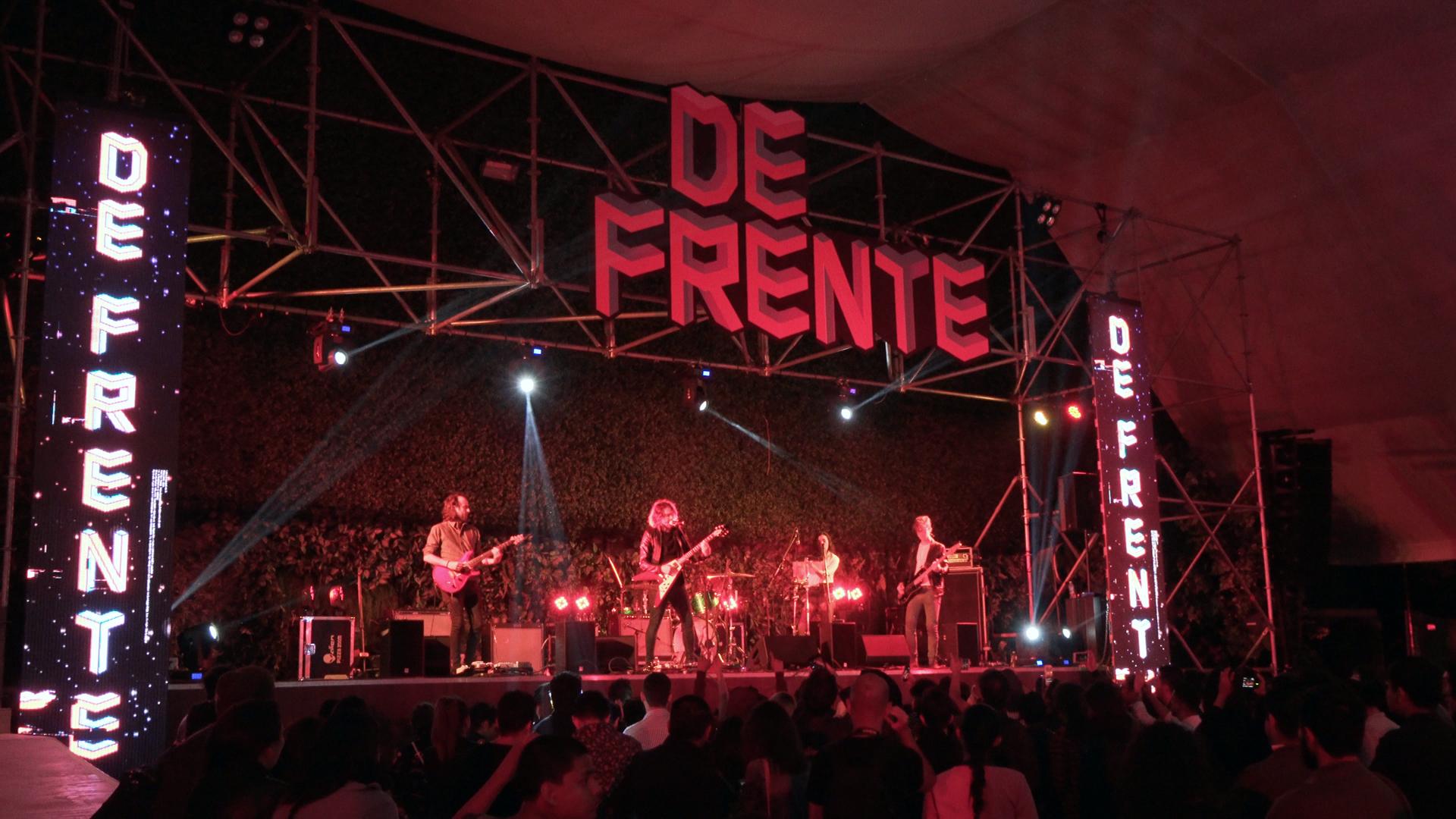 #FestivalDeFrente y la música de Discos Panoram