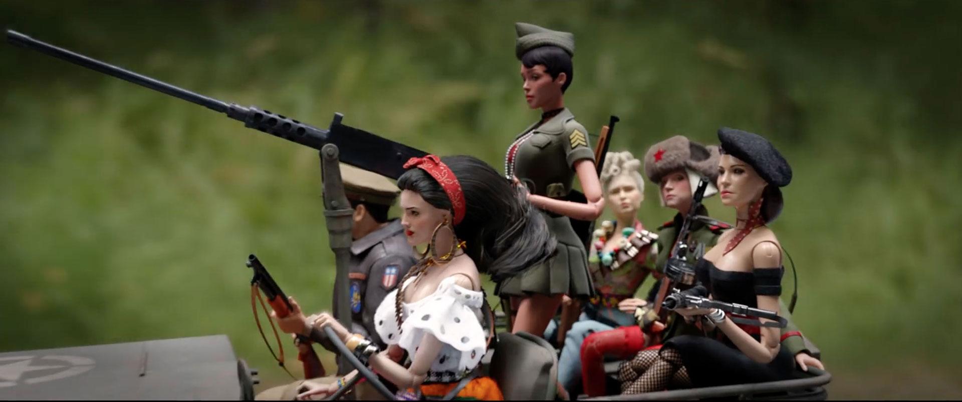 Eiza González se convierte en Barbie para esta nueva película