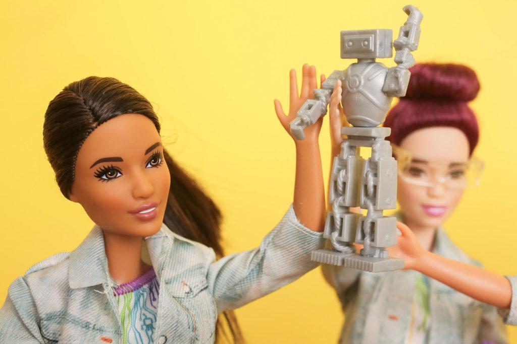 Barbie esta lista para convertise en Ingeniera en Robótica