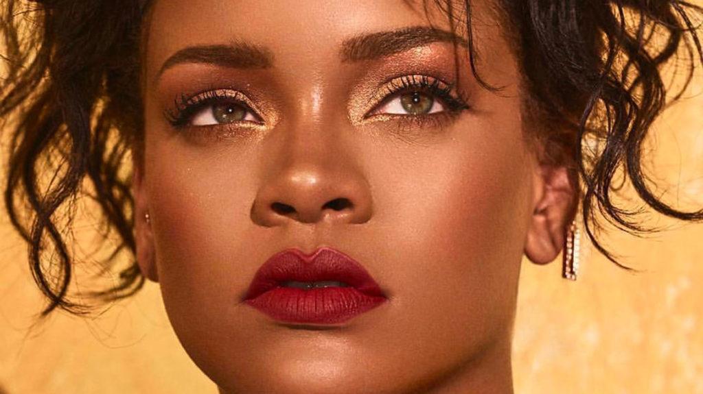 Rihanna le pone sabor al maquillaje con Morocco Spice Collection
