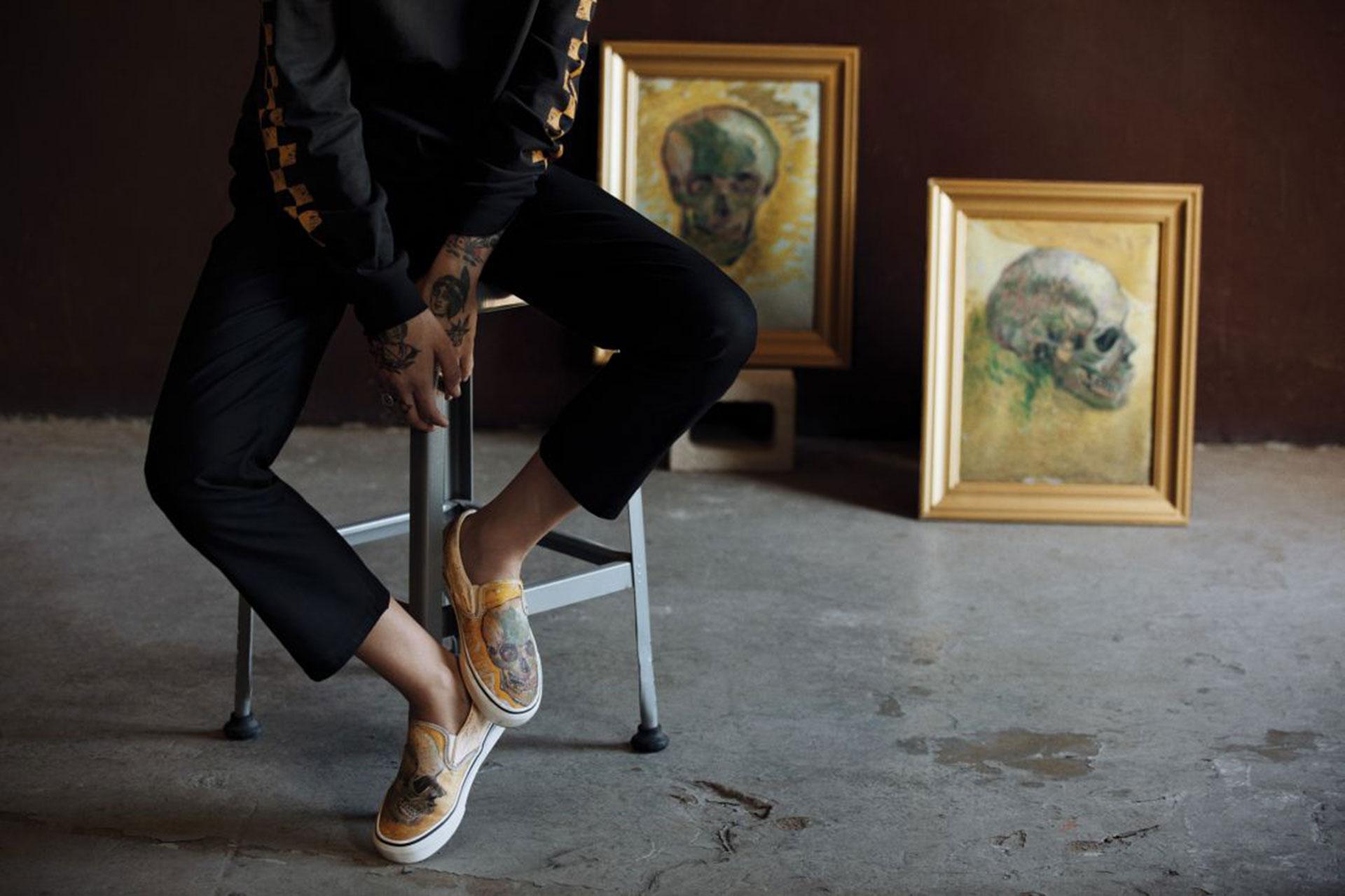 Esta colección de Vans x Van Gogh te encantará