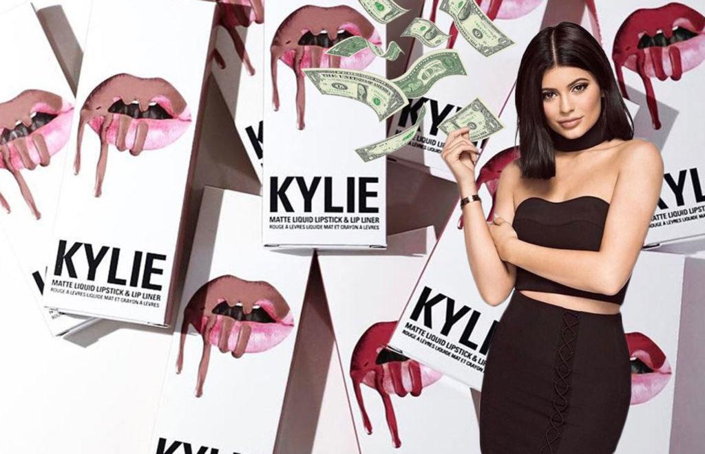 Kylie Jenner ha creado un imperio cosmético y sus fans quieren más